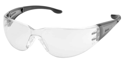 Elvex Delta Plus Atom™ Safety Glasses Clear Anti Fog PC Ballistic Lens Z87.1