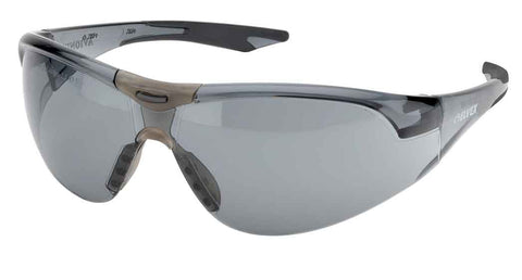 Elvex Delta Plus Avion SF Slim Fit Safety/Shooting/Tactical/Sun Glasses Anti-Fog Smoke Lens Black Frame