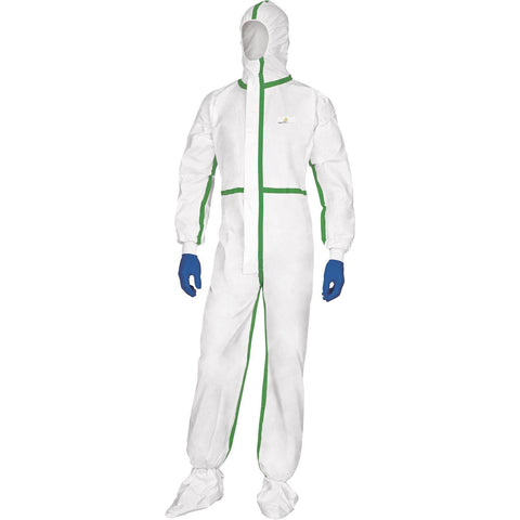 Image of Delta Plus Disposable Clothing/Coveralls HAZ-MAT, Bio Hazard, Spray Painting DT119