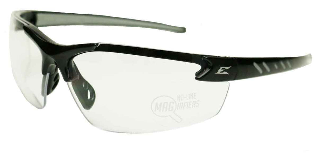 Edge Eyewear Zorge G2 Bifocal Safety Glasses Clear Lens 1.5-2.5 Mag