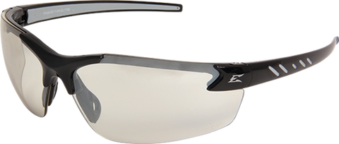 Image of Edge Eyewear DZ111G Zorge Safety Glasses, Black with Clear Lens