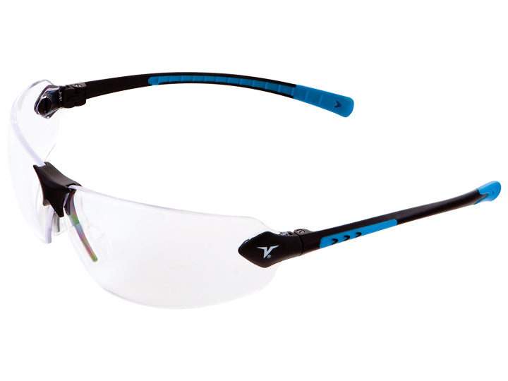 Encon Veratti 429 Safety Glasses Clear Lens/Blue Frame