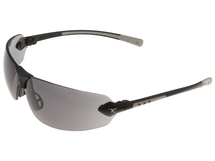 Encon Veratti 429 Safety Glasses Grey Anti-Fog Lens Grey Frame