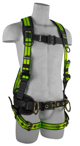 Image of SafeWaze Pro+ Flex Construction Harness, FS-FLEX360