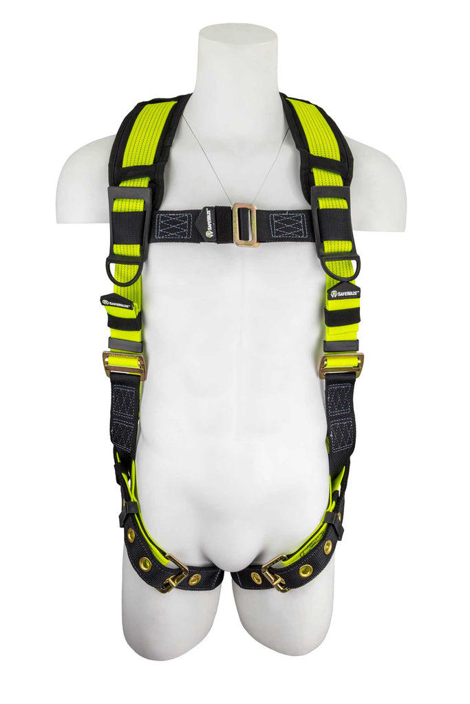 SafeWaze Pro+ Flex Construction Harness, FS-FLEX360