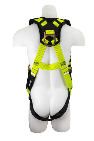 Image of SafeWaze Pro+ Specialty Hi-Vis Harness, FS-HIVIS185