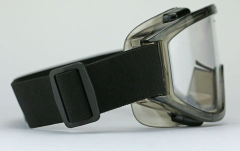 Image of Elvex Delta Plus Visionaire Safety Goggles Clear Anti-Fog Anti-Scratch Over Fit Z87.1
