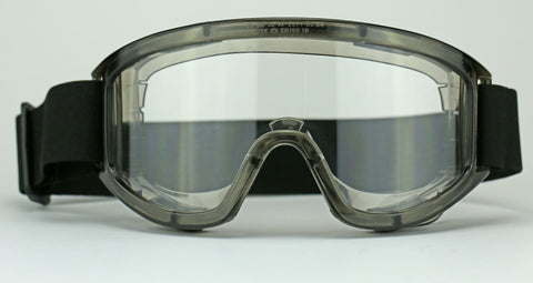 Elvex Delta Plus Visionaire Safety Goggles Clear Anti-Fog Anti-Scratch Over Fit Z87.1