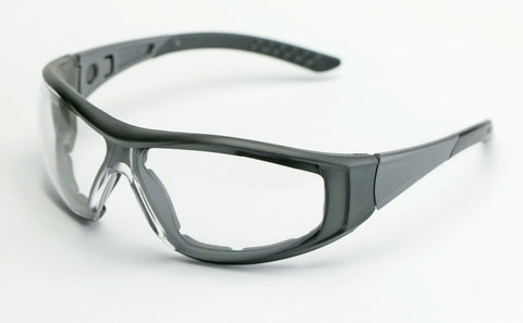 Elvex Go Specs II G2 Safety/Shooting/Glasses/Goggles Clear & Grey Anti-Fog Lens