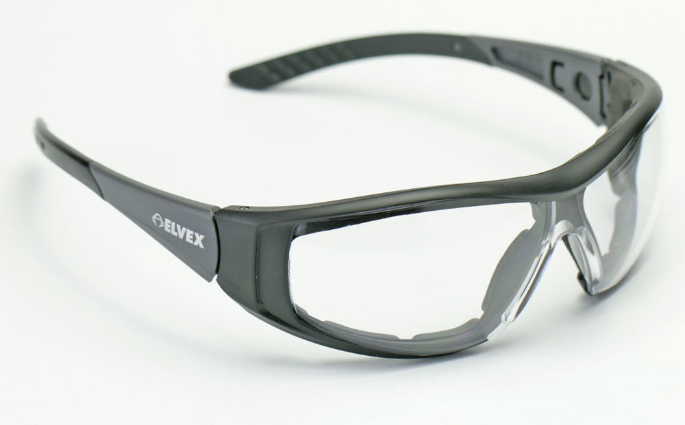 Elvex Go Specs II G2 Safety/Shooting/Glasses/Goggles Clear Lens WELGG-45C-AF