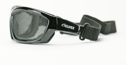Elvex Air Spec Fog Proof Safety/Sport Glasses Stainless Steel Mesh Z87.1