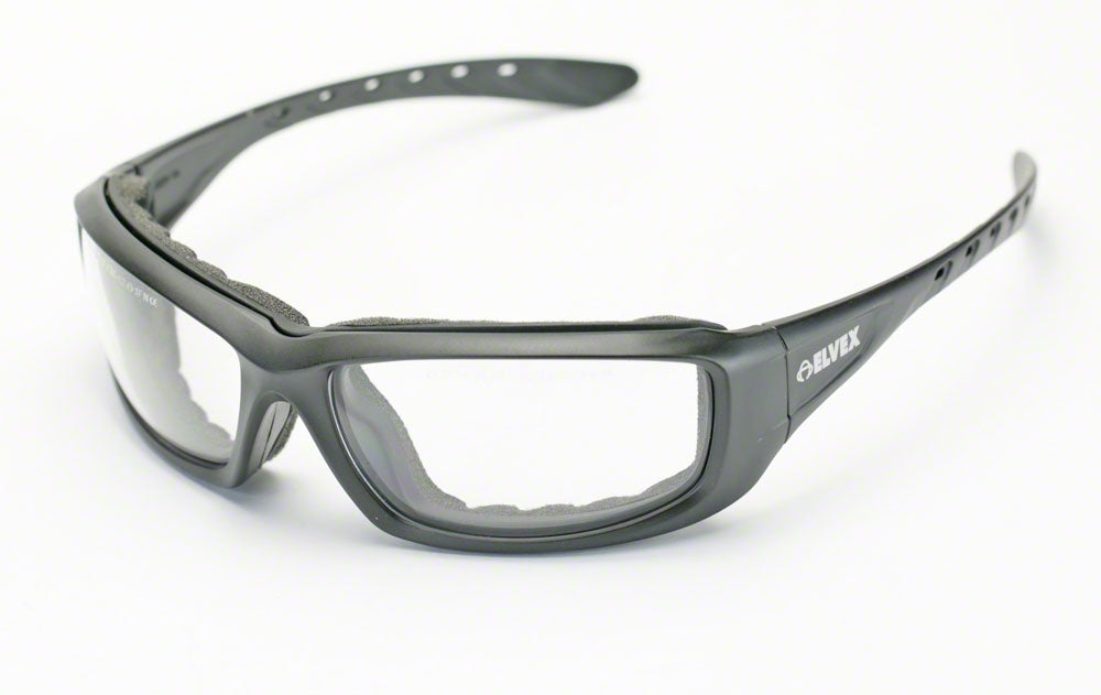 Elvex GoSpecs Pro™ Anti Fog Safety Glasses Clear Ballistic Rated Lens Z87.1