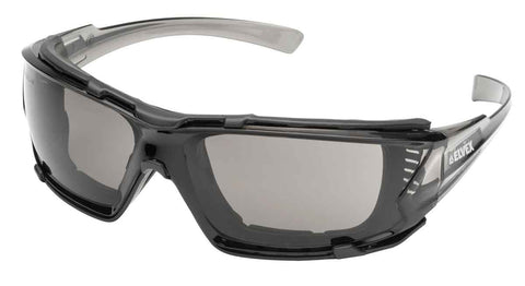 Image of Delta Plus Go Specs IV Safety/Glasses/Goggles  Anti-Fog Lens Dark Gray Temples Z87.1
