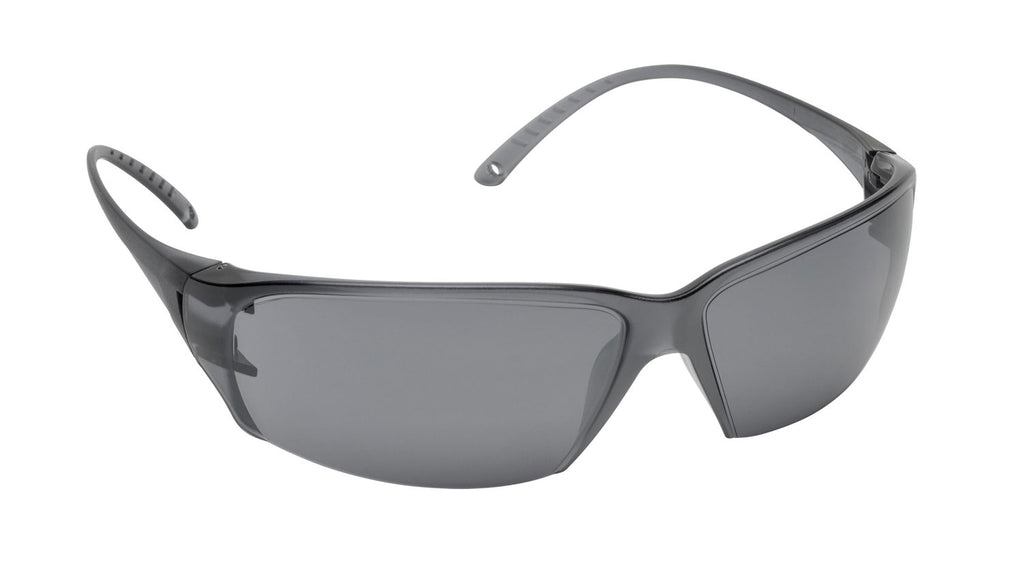 Elvex Delta Plus Helium 18 Safety Glasses Gray PC Lens  Anti-Fog Coating