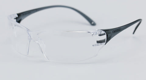 Image of Elvex Delta Plus Helium 18 Safety Glasses Clear PC Lens Z87.1
