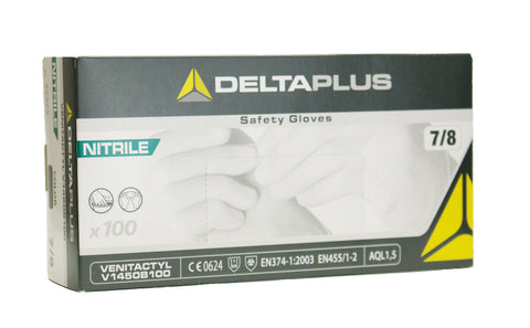 Image of Delta Plus Venitactyl Nitrile Disposable Gloves