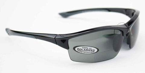 Image of magna-FIRE MF3500 Bifocal Safety Glasses, Grey Polarized Lens