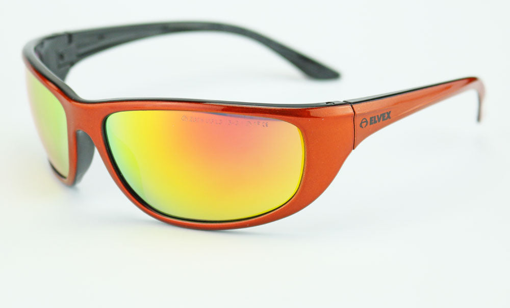 Elvex Impact Series WELRSG201 Safety/Shooting/Sun Glasses Ballistic Rated Z87.1