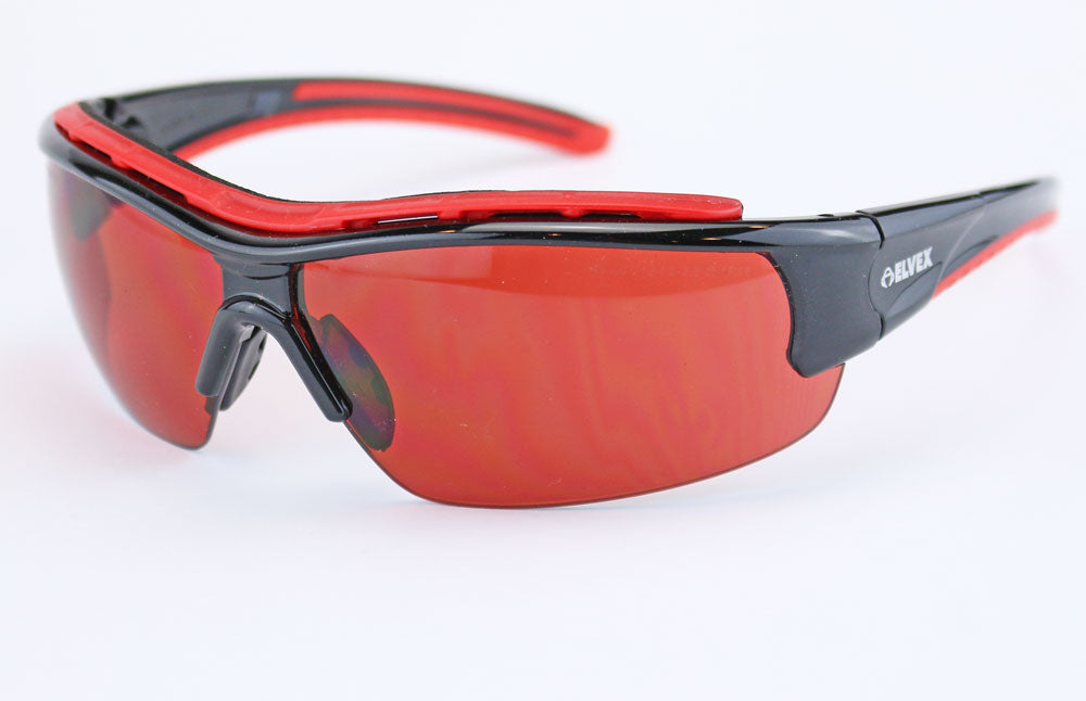 Elvex Impact Series RSG301 Safety/Shooting/Blue Blocker/Sun Glasses Z87.1