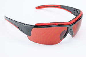 Elvex Impact Series WELRSG301 Safety/Shooting/Blue Blocker/Sun Glasses Z87.1
