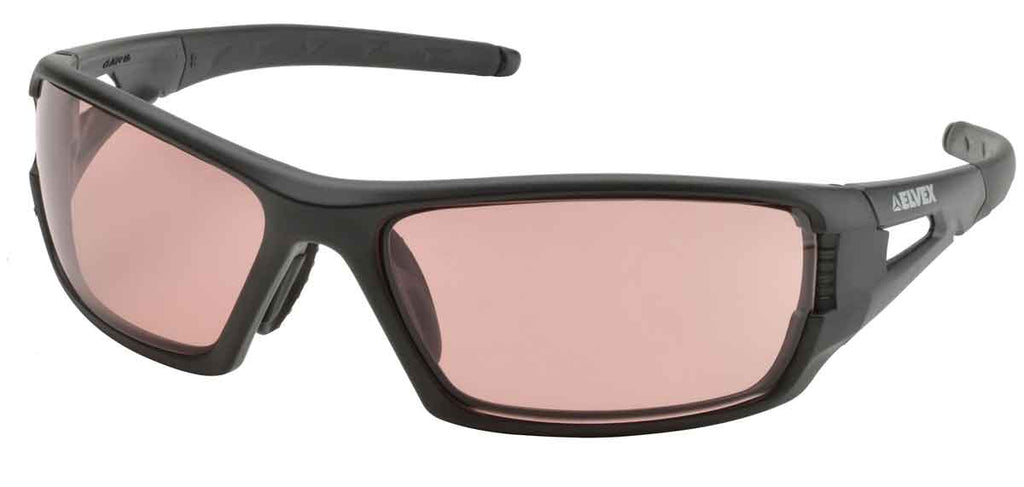 Elvex Impact Series RSG400 Ballistic Rated Safety, Sun Glasses, Mirror Blue Blocker Lens