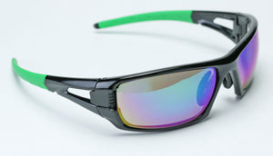 Elvex Impact Series RSG401 Ballistic Rated Safety, Sun Glasses, Mirror Lens