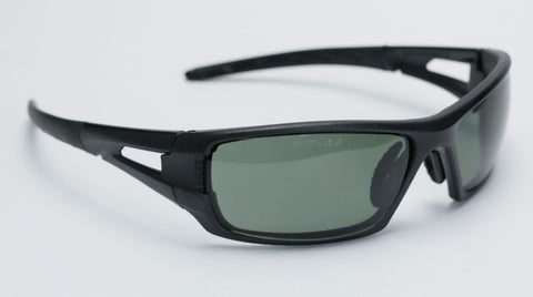 Image of Elvex Impact Series RSG402 Ballistic Rated Safety, Sun Glasses, Grey Polarized Lens