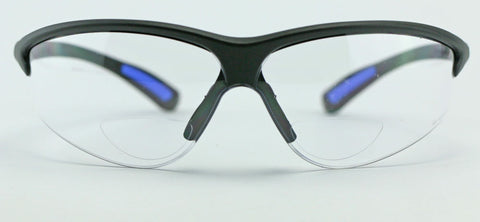 Image of Elvex RX300™ Bifocal Safety/Reading Glasses Clear Lens 1.0 to 3.0 Magnification