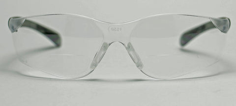Elvex RX450™ Bifocal Safety/Reading Glasses Clear Lens 1.5,2.0,2.5 Z87.1
