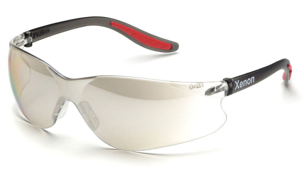 Elvex Xenon™ Safety/Motorcycle Glasses Indoor/Outdoor Lens  WELSG-14I/O