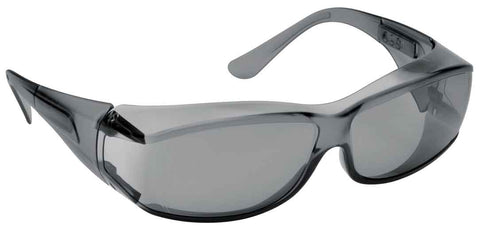 Image of Elvex Delta Plus OVR Specs III Safety/Motorcycle/Sun Glasses Over Fit Glasses/Grey Lens