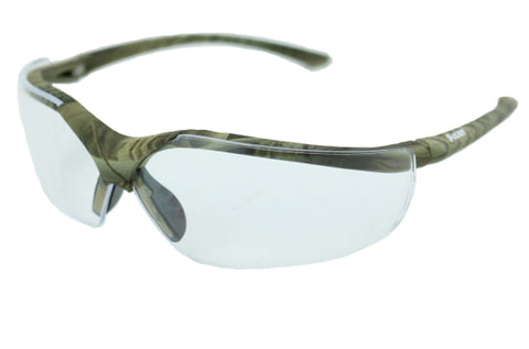 Elvex Delta Plus Acer Series Safety/Tactical/Glasses Camo Frame All Lens Colors Ballistic Rated Z87.1