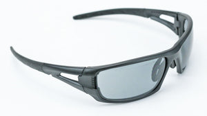 Elvex Delta Plus RimFire Safety/Shooting/Sun Glasses Gray Anti Fog Lens