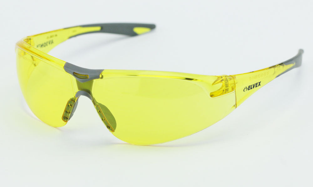Elvex Delta Plus Avion Safety/Glasses Amber Lens/Shooting/Women Z87.1 WELSG-18A