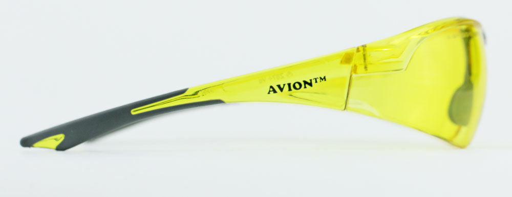 Elvex Avion Safety/Glasses Amber Lens/Shooting/Women Z87.1 WELSG-18A