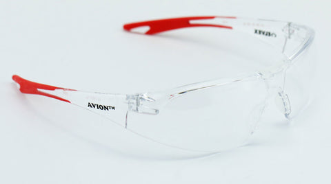 Image of Elvex Avion Safety/Shooting/Glasses Clear Lens Ballistic Rated Z87.1 WELSG-18C