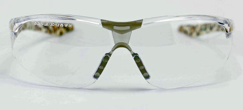 Image of Elvex Avion™ Safety/Tactical/Shooting/Glasses Leopard Style Frame Women Z87.1