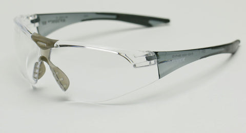Image of Elvex Avion™ Slim Fit Shooting/Ballistic Safety Glasses Clear A/F WELSG-18CAF-SLIM BLK
