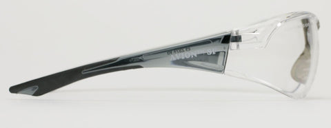 Elvex Avion™ Slim Fit Shooting/Ballistic Safety Glasses Clear A/F WELSG-18CAF-SLIM BLK