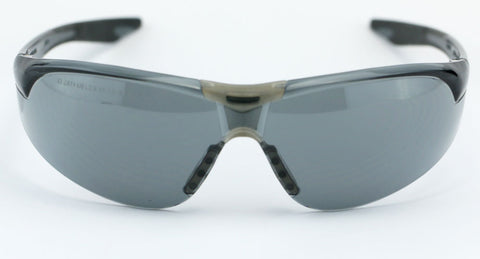 Image of Elvex Avion Safety/Shooting/Sun Glasses Smoke A/F Lens Z87.1WELSG-18G-AF-BLK