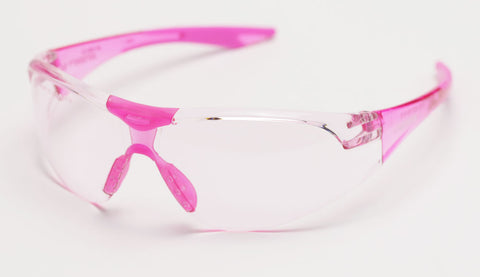 Image of Elvex Avion Slim Fit Girls/Women/Shooting Safety Glasses WELSG-18PK-SLIM PINK
