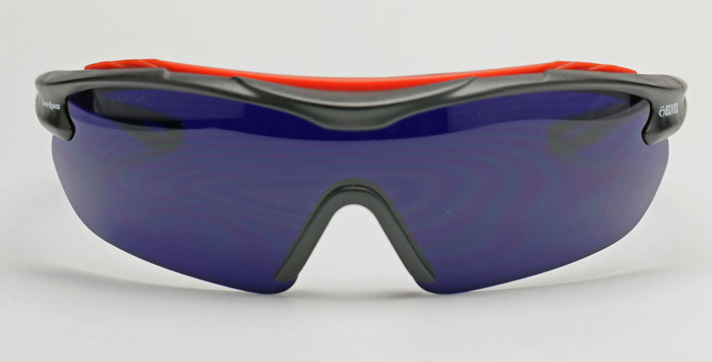 Elvex Brow-Specs Foundry/Fabrication/Safety Glasses Cobalt Blue A/F Lens  WELSG-31CB-AF