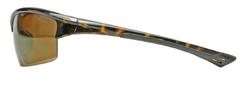 Elvex Delta Plus Sonoma™ Safety/Sun Glasses Gold Mirror Lens/Tortoise Frame