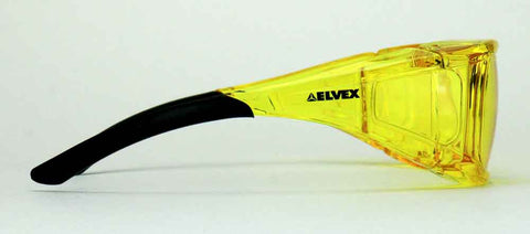 Elvex OVR Specs II Safety/Shooting/Driving Glasses Over Fit Glasses Z87.1