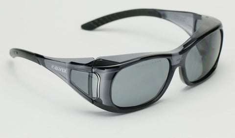 Image of Elvex OVR Spec II Safety/Shooting/Tactical Sun Glasses Over Fit Glasses Z87.1