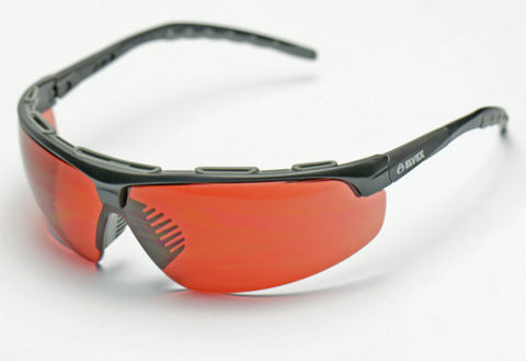 Elvex Denali Sun/Shooting/Safety Glasses Copper Blue Blocker Lens Z87.1 WELSG-56BB