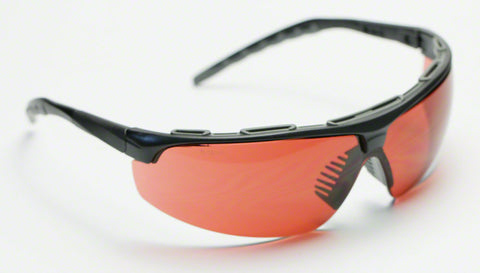 Elvex Delta Plus Denali Sun/Shooting/Safety Glasses Copper Blue Blocker Lens Z87.1