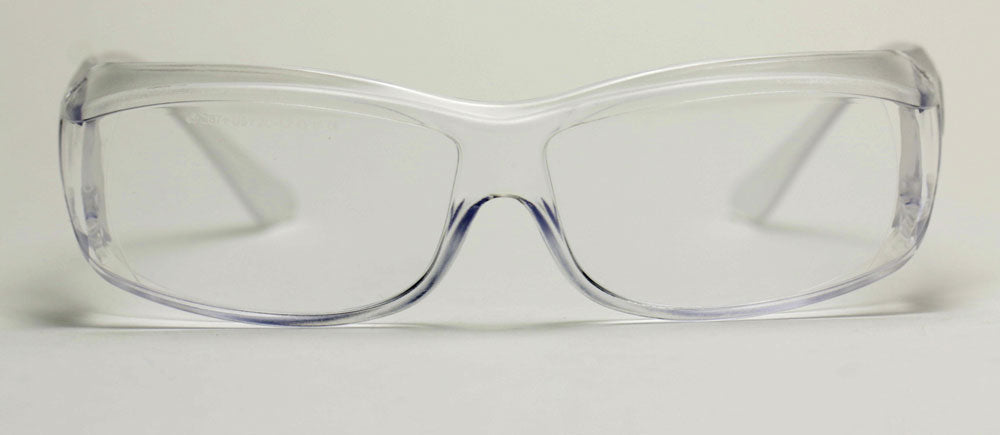 Elvex OVR Specs III Safety/Motorcycle Glasses Over Fit Glasses/Clear Lens Z87.1