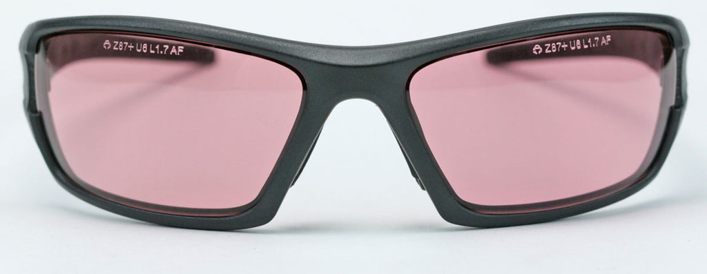 Elvex RimFire™ Safety/Shooting/Sun Glasses Copper Blue Blocker Z87.1 WELSG-61BB50AF