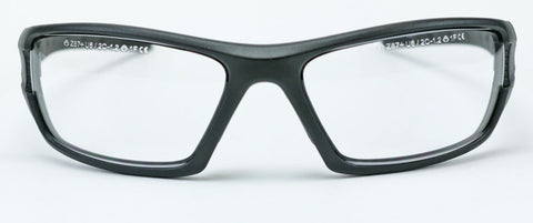 Image of Elvex Delta Plus RimFire Safety/Shooting/Tactical Glasses Clear Lens Ballistic Z87.1